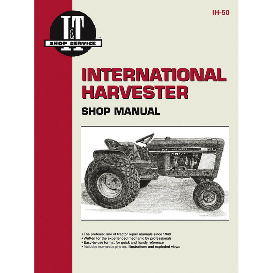 International Harvester Service Manual 48 pages. Contains wiring diagrams for all models.