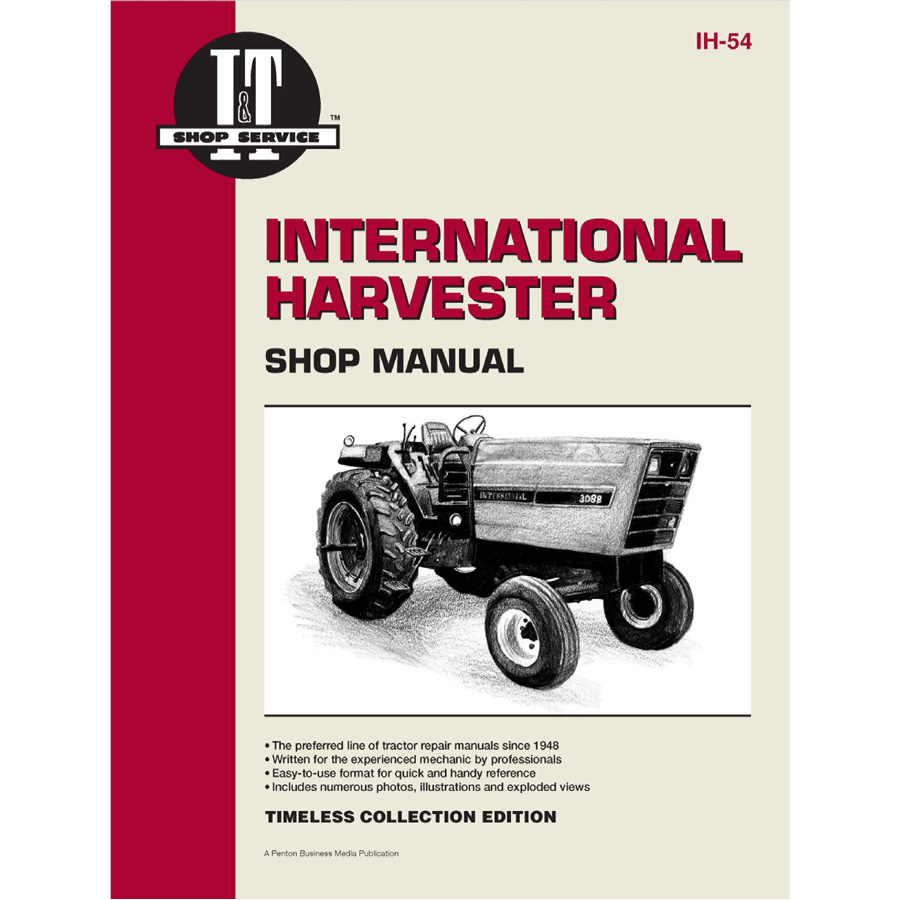 International Harvester Service Manual 104 pages. Contains wiring diagrams for all models.