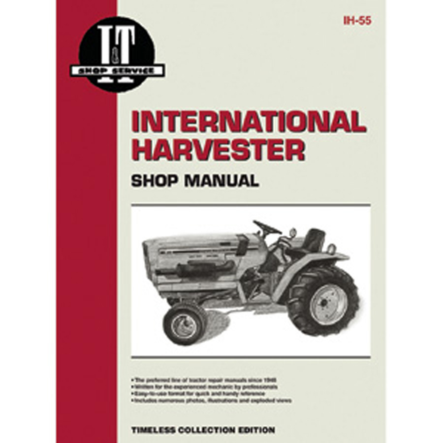 International Harvester Service Manual 56 pages. Includes wiring diagrams for all models.