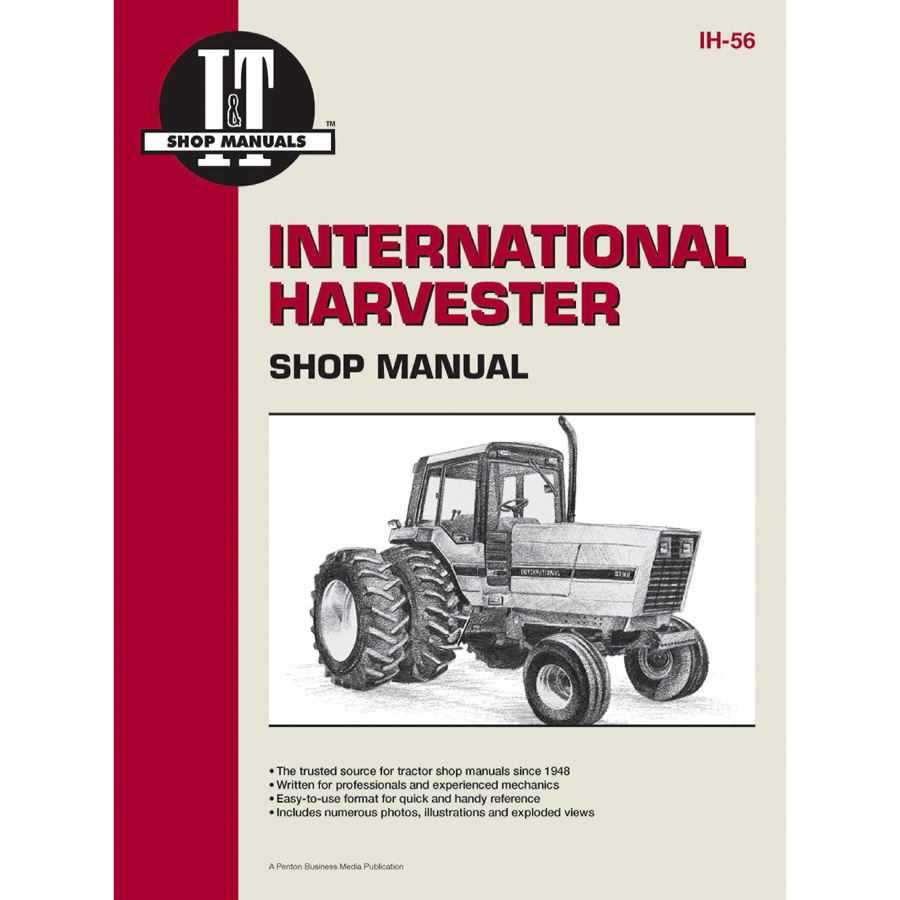International Harvester Service Manual 96 pages. Includes wiring diagrams  for all models.