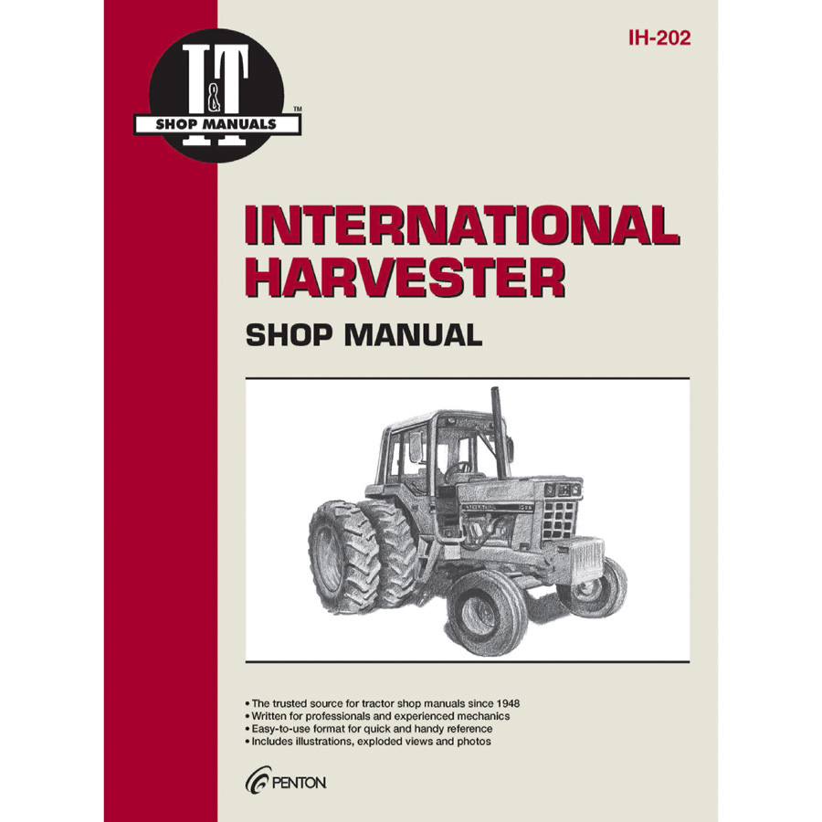 International Harvester Service Manual 304 Pages Does Not Include Farmall 656 Wiring-Diagram Ih 686