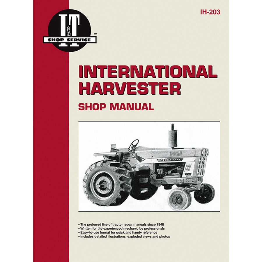 International Harvester Service Manual 272 pages. Wiring diagrams for 766