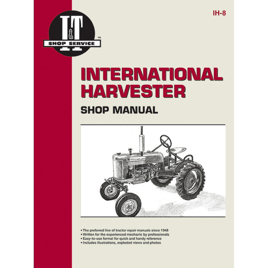 International Harvester Service Manual 88 pages. Does not include wiring diagrams.