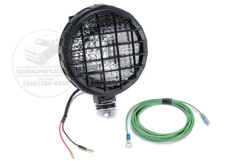 Mountable Work Light/ Driving Light - 3 Axis Positionable