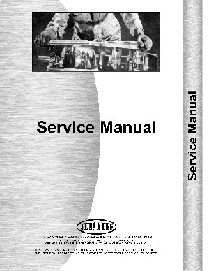 Service Manual - International 3588 Diesel Engine only