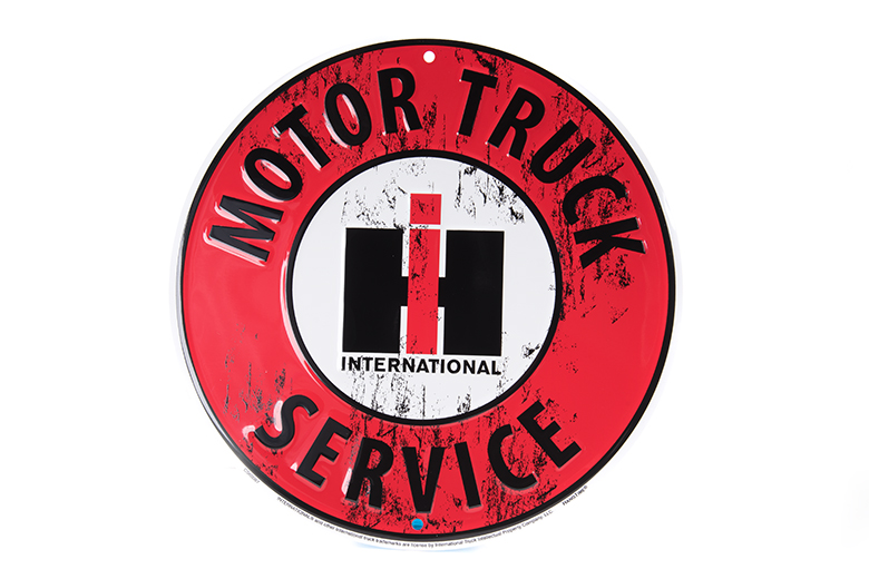 Motor Truck Service IH Sign