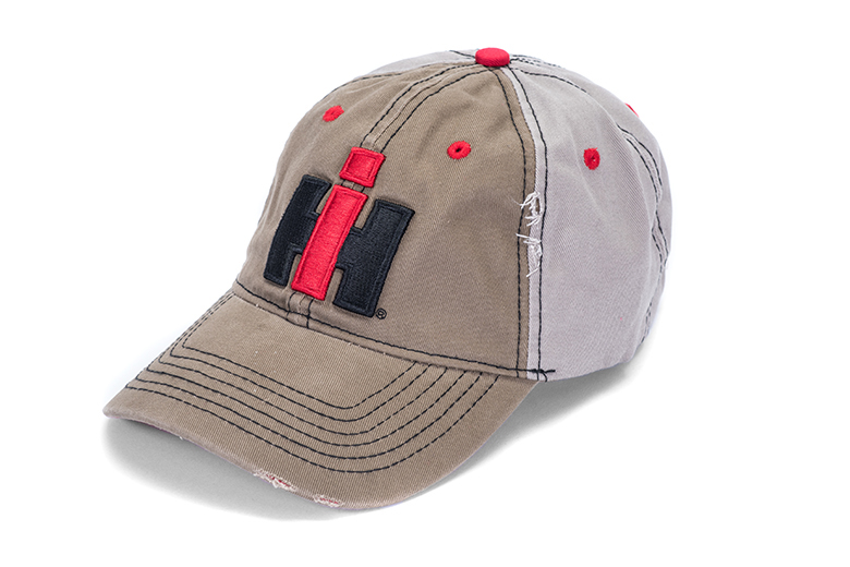 0f37fa55 Distressed Baseball Cap, Hat with IH Logo - Toys, Books, & Gifts ...