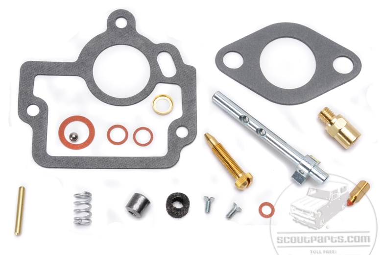 Carb rebuild kits for Farmall H, HV with carb #50981DA
