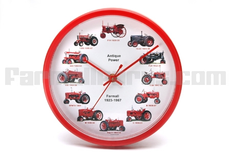International Tractor Dial Clock