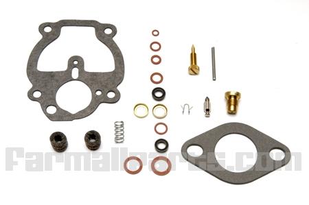 Carburetor Rebuild Kit -  Farmall A, B, C, Super A, Super C, 100, 130, 140, 200, 230, 240