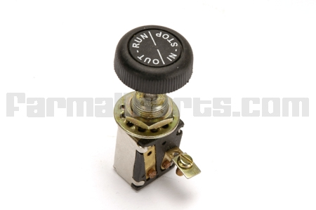 Ignition Switch For Farmall  With 6 Volt Magneto Ignition
