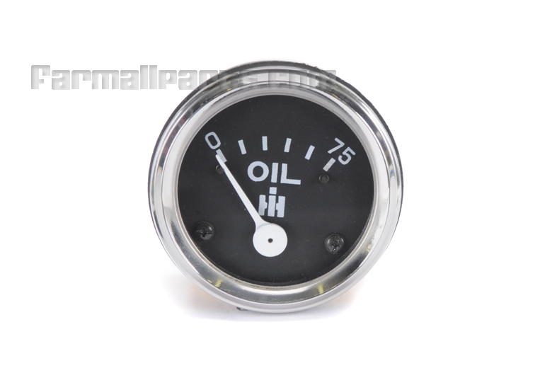 Gauge, Oil pressure Mechanical pressure gauge (not electric)- Farmall Cub, Cub Lo-Boy, Super A, AV, C, Super C, 100, 130, 140, 200, 230, 240, 300, 330, 340, 350, 400.