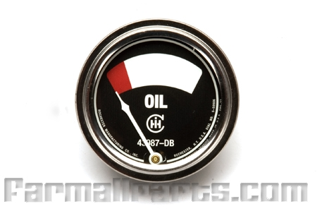 Oil pressure Gauge,  - Farmall A, B, C.
