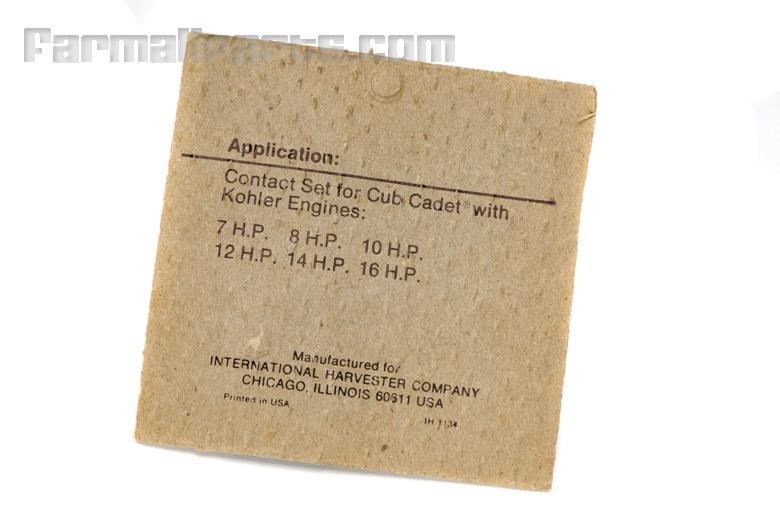 Points Contact Set NOS - Cub Cadet