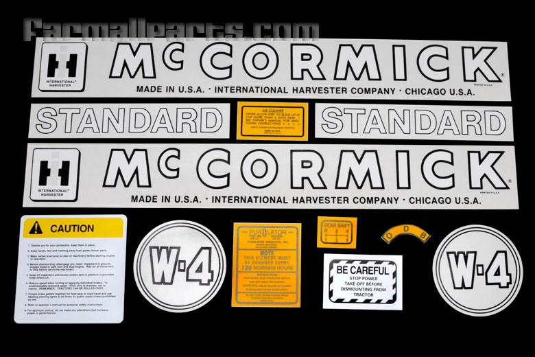 Decal W-4