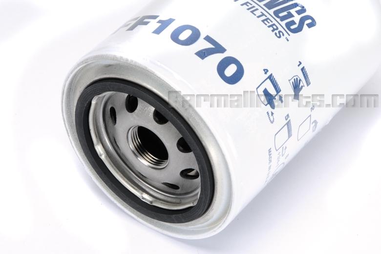 Oil filter - Case-IH TRACTOR: 1066 (W/ DT414 Engine), 1086 (W/ DT414 Engine), 1466 (W/ DT436 Engine), 1486 (W/ DT436 Engine), 686 (W/ D312 Engine), 766 (W/ D360 Engine), 886 (W/ D360 Engine), 986 (W/ D436 Engine)