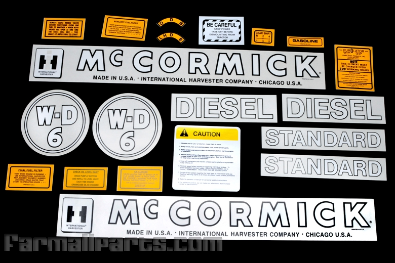 Decal WD-6