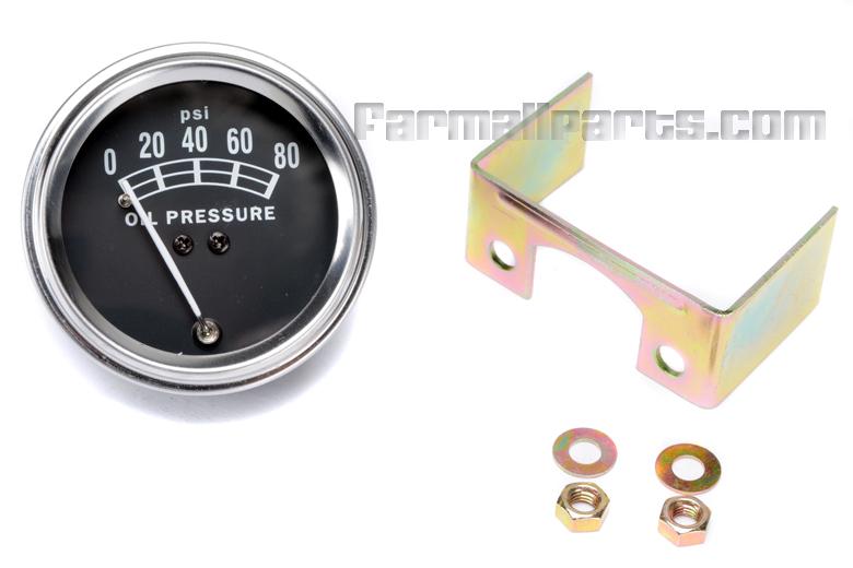 Oil Pressure Gauge - 0-80lbs