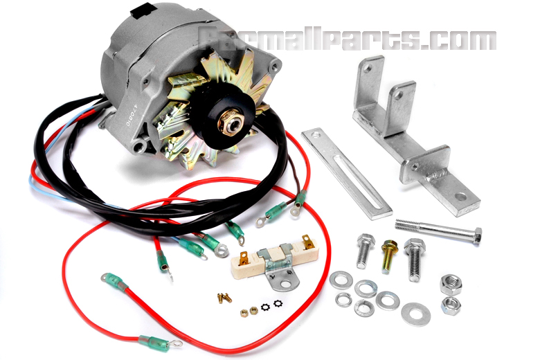 Alternator Conversion Kit - Farmall M, MD - Farmall H ... on