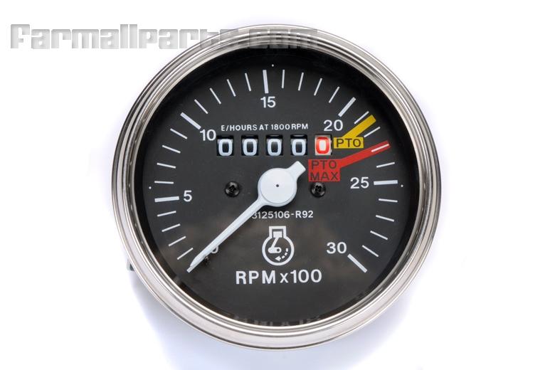 Tractormeter - Tachometer - Farmall 454, 464, 574, 674, 484, 584, 684, 784, 884, 885, 2400