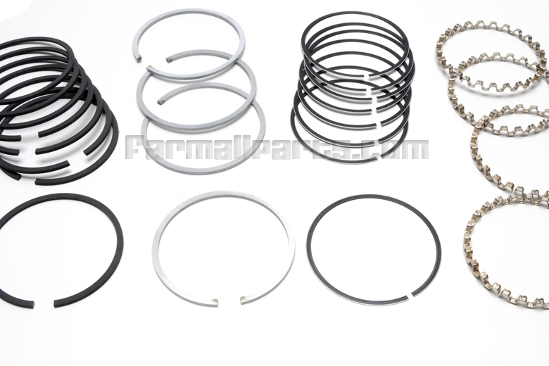 piston ring set - c123 engine - fuel system parts - farmall parts