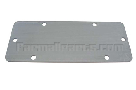 Belt Pulley Block Off Plate -H