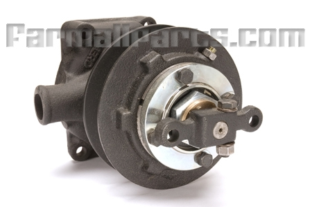 New water pump with pulley for Farmall: M, MD,   Super M,  Super MTA, W6, WD6, 400, 450.