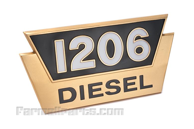 1206 Diesel farmall EMBLEM
