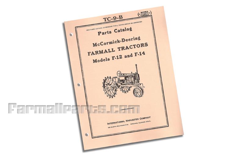 Parts Catalog - F-12, F-14
