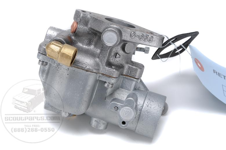 Carter UT Carburetor Rebuild - Super C, Super A - Fuel