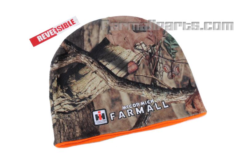 IH Farmall Logo Reversible Camo Stocking Hat - Beanie Cap