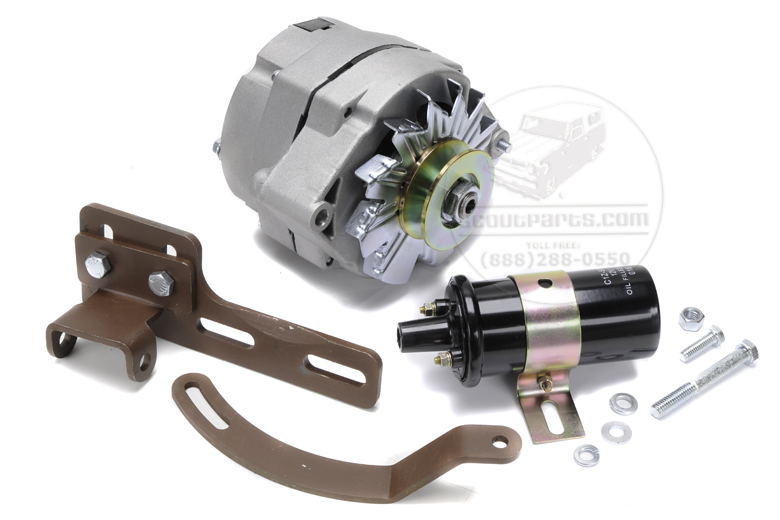 alternator kit for farmall h - engine related parts - farmall parts - international harvester ... farmall h wiring kit #4