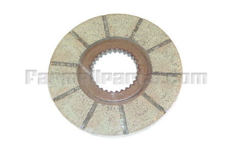 Bonded Brake Disc for Early Cockshutt 40 & 50, 770, 880, 1550, 1660, and 1650.