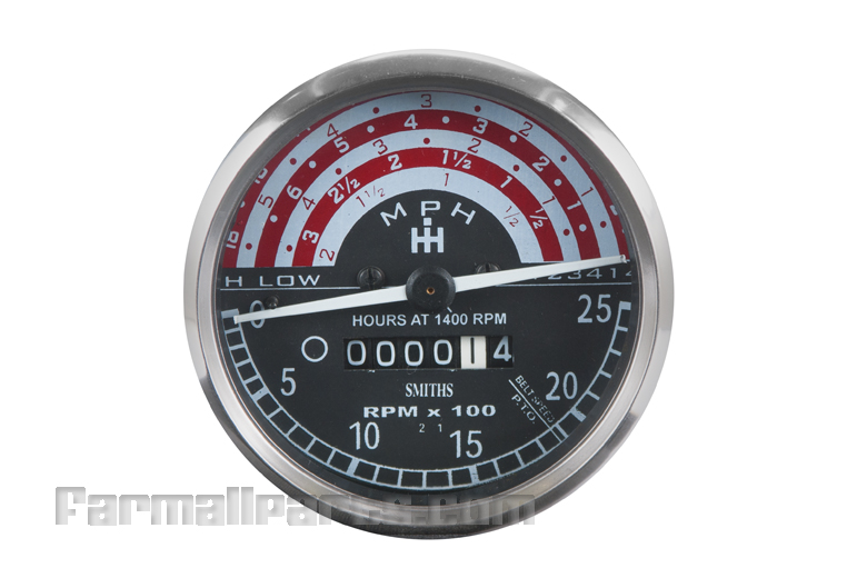 tractor to 30 wiring tachometer speedometer gauge international harvester #15