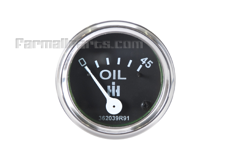 Oil Gauge - 0-45 Studs & Bracket