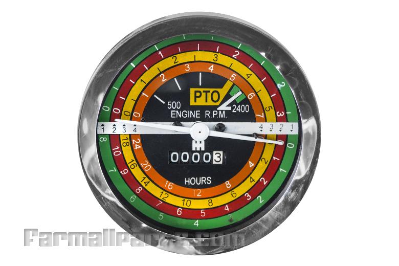 Tachometer/Hour meter - NEW Farmall 706, 806 - 06 Series Tractors