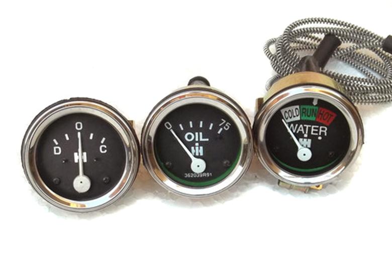 Gauge Kit -  Amp, Temp, Oil Pressure