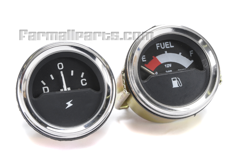 Fuel Gauge kit - Ammeter International Harvester Farmall 766, 966, 1066,1466,1468,1566,1568,4366,4386 4568,4586 Fuel, Ammeter for IH 766, 966, 1066,1466,1468,1566,1568,4366,4386 4568,4586