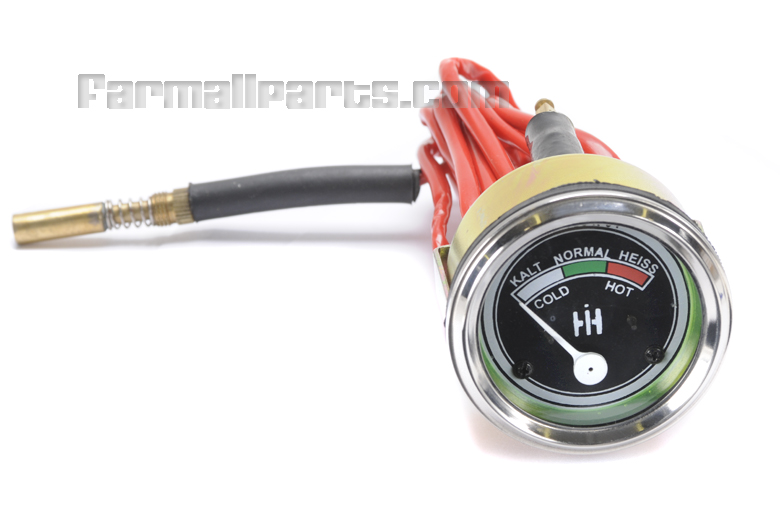 Temperature Gauge for IH McCormick Diesel Tractor D219, D217, D215, D214, D212   D326, D324, D322, D320,   D440, D439, D438, D436, D432, D430- German Language