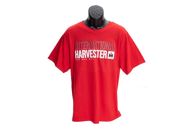 International Harvester T-Shirt-Limited Stock (red, navy, black)