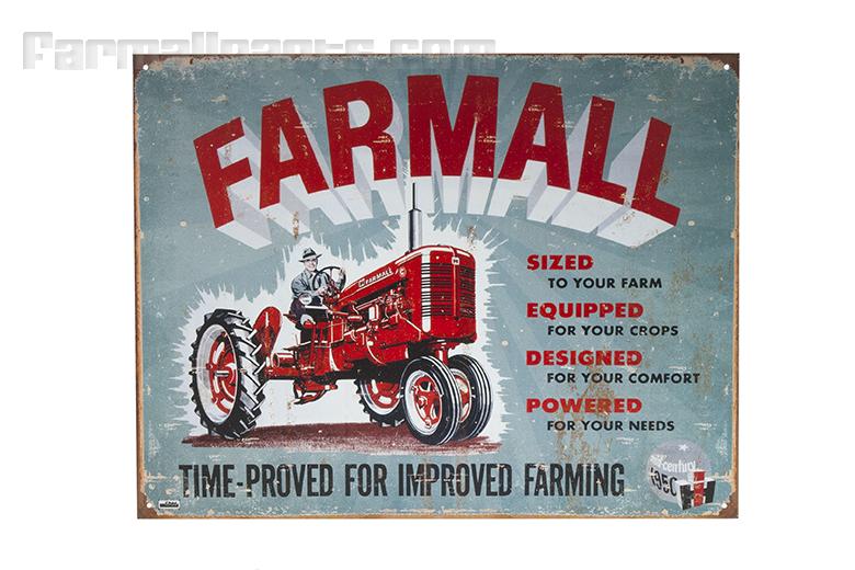 Farmall C Metal Sign - Farmall