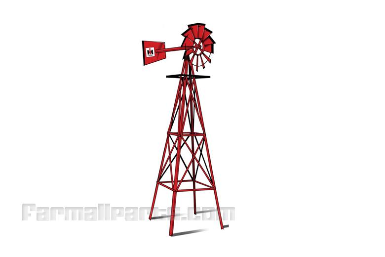 wind mill Case 8 feet tall