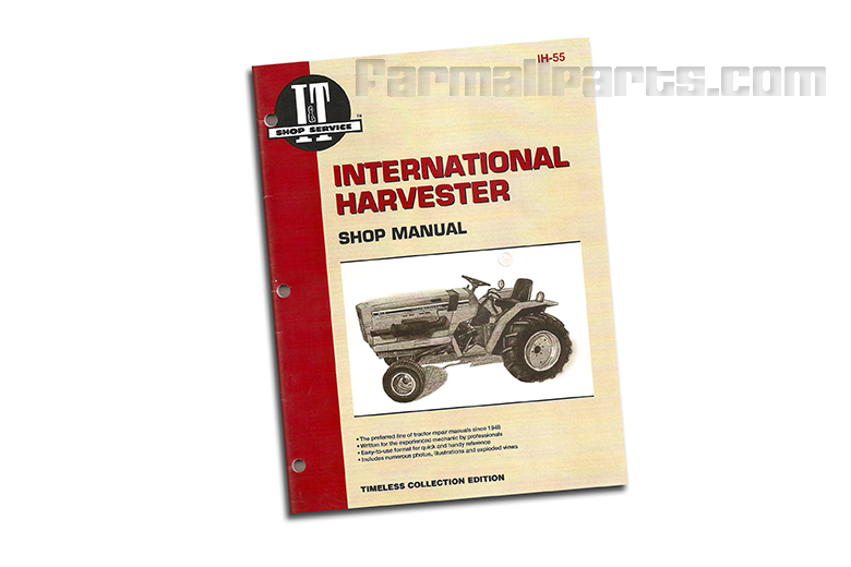 Shop Manual for the 234, 234 Hydro, 244, 254