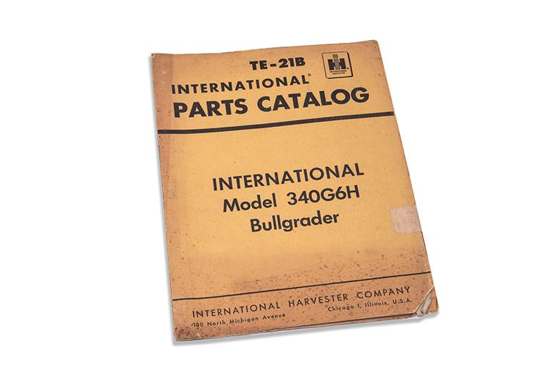 TE-21B 340G6H Bullgrader Parts Catalog