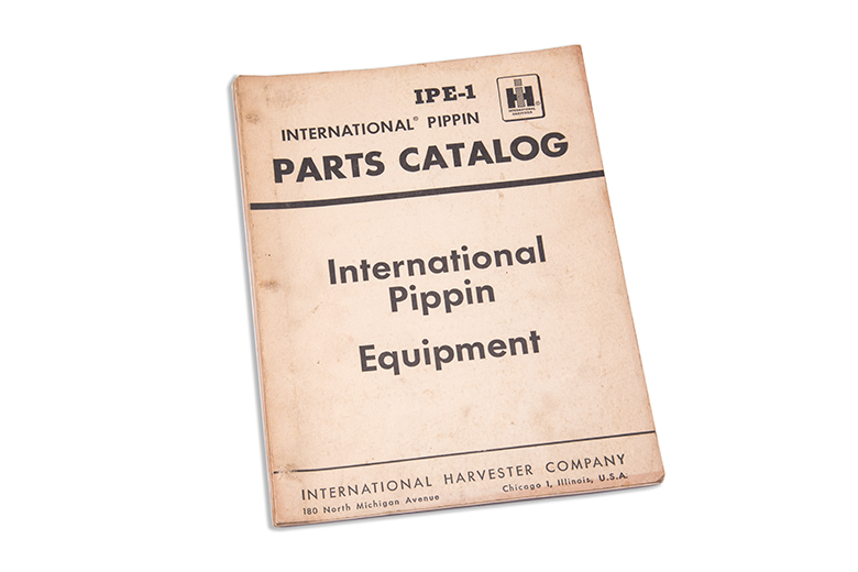 International Pippin Parts Catalog