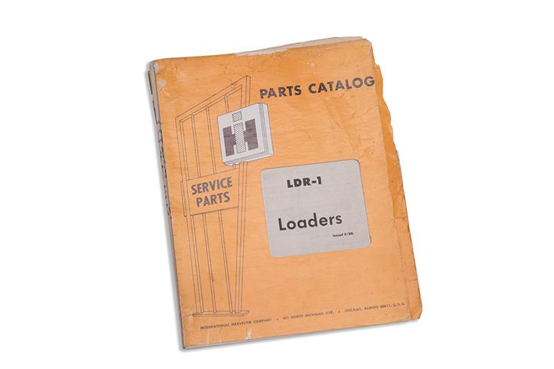 Parts Catalog LDR-1 Loaders