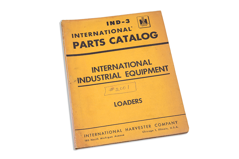 Parts Catalog IND-3 Loader