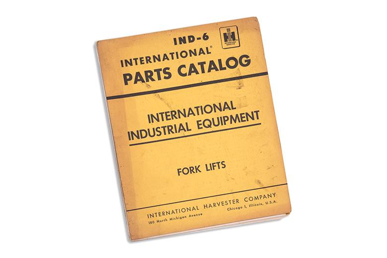 Parts catalog Fork Lift IND-6