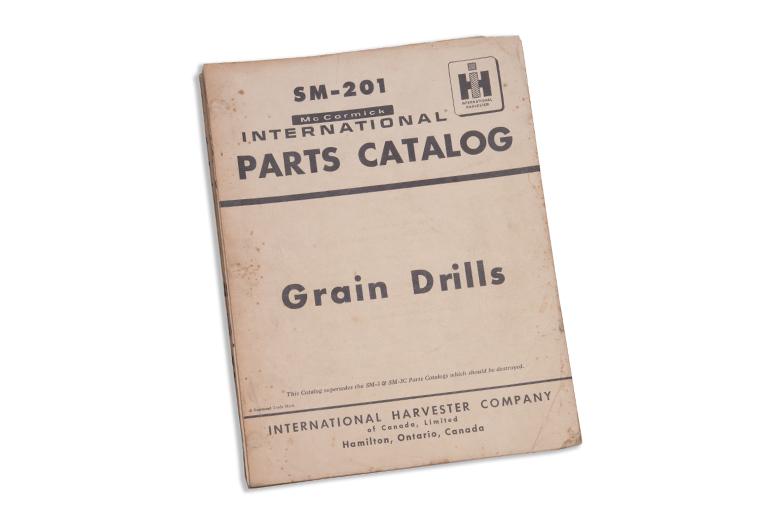 Grain Drills Parts Catalog