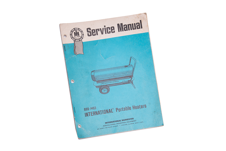 International service Manual for Portlable Heaters